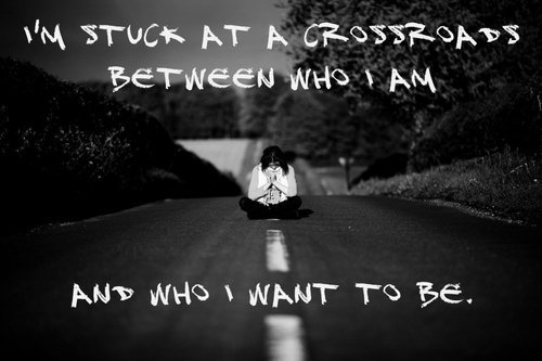 I am stuck at a crossroads